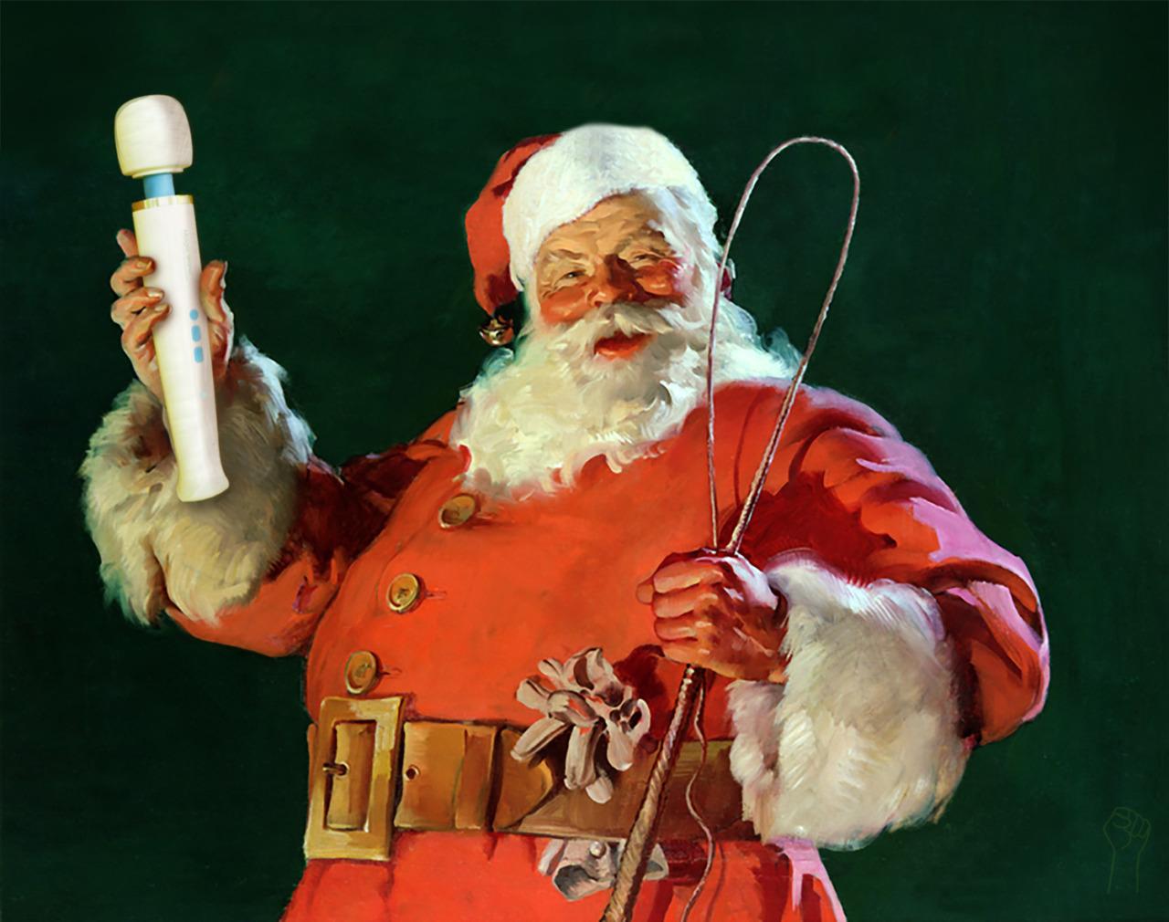 magic wand santa claus