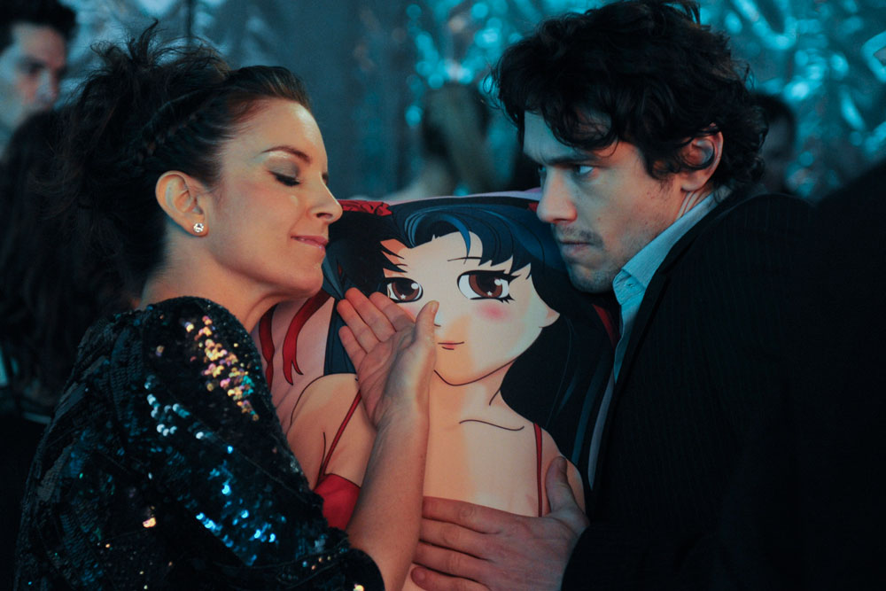 James Franco's threesome with Tina Fey and a pillow