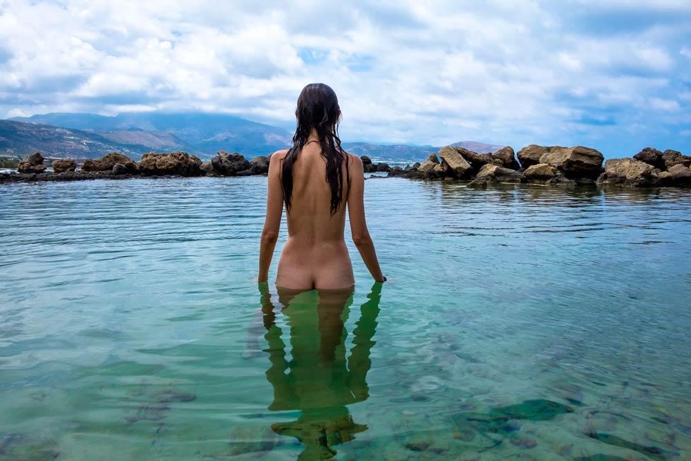 baia spiaggia naturista falasarna