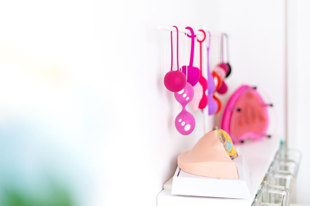 palline vaginali nello studio di violeta benini