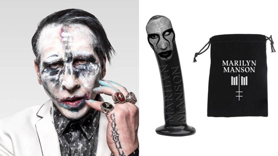 Double Cross Dildo Marilyn Manson