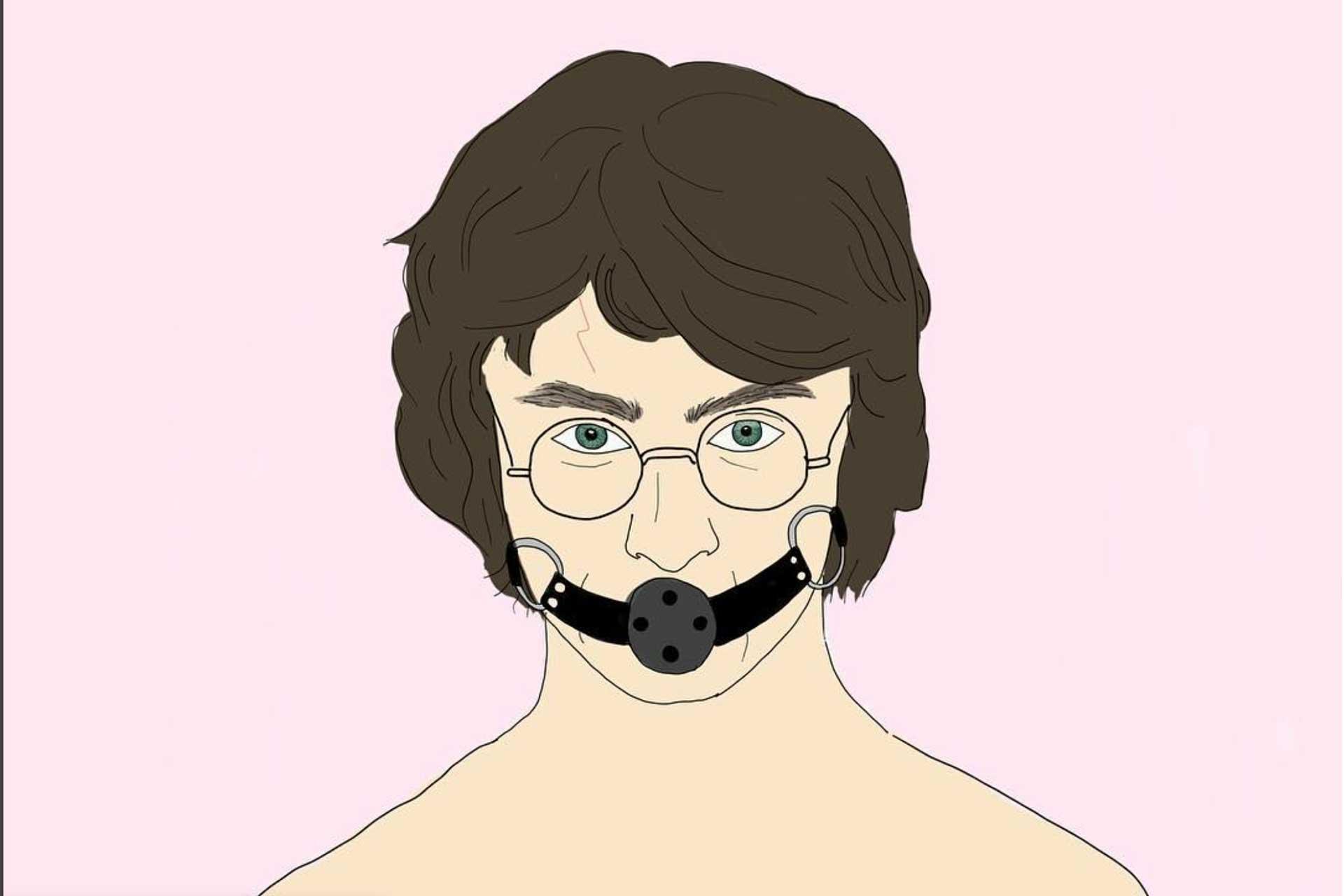 Harry Potter illustrazione erotica