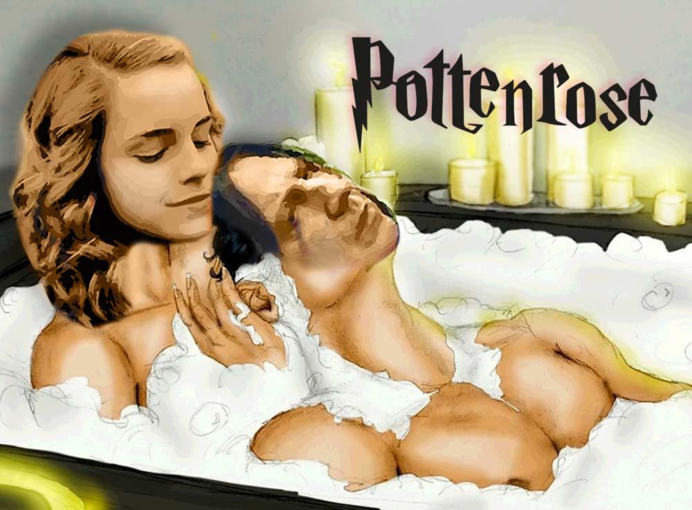 Hermione e Piton nel bagno dei prefetti