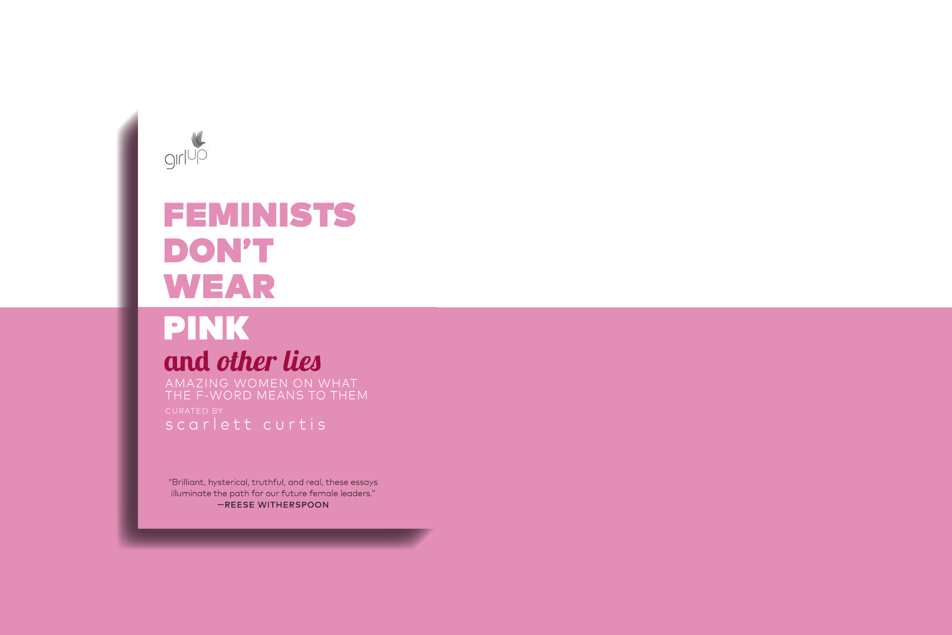 copertina libro Feminists don't wear pink and other lies