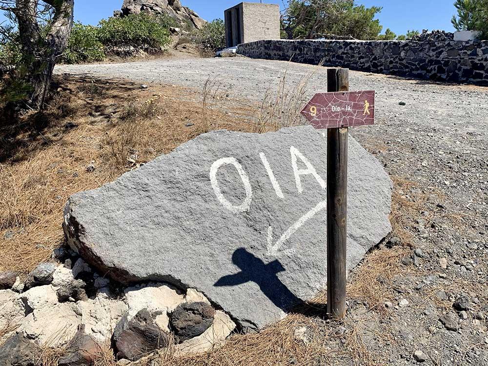 Sentiero Fira Oia Santorini