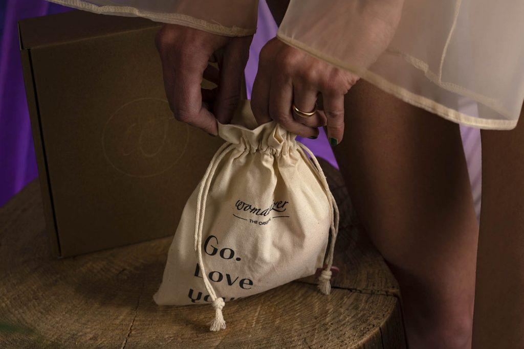 Womanizer Premium Eco custodia cotone organico