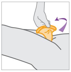 ruotare anello esterno condom femminile